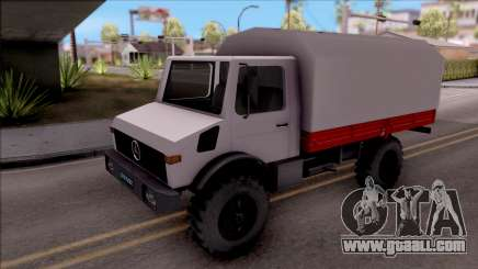 Mercedes-Benz Unimog Vojno Vozilo for GTA San Andreas
