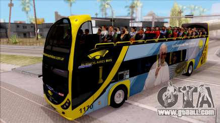 Scania Metalsur Starbus 2 Descapotable for GTA San Andreas