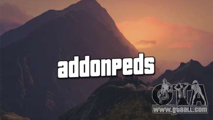 AddonPeds 3.0 for GTA 5