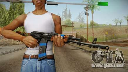 Contract Wars - AK-74 for GTA San Andreas