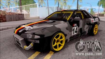 Nissan Skyline R32 Drift Falken Germany v3 for GTA San Andreas
