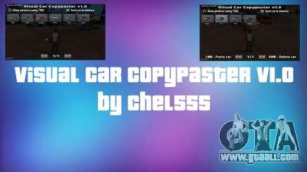 Visual Car Copypaster v1.0 for GTA San Andreas