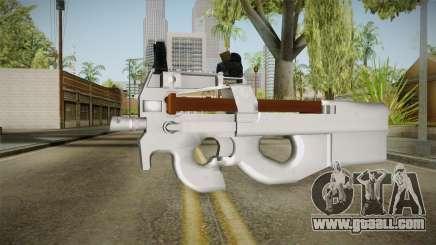 Chrome P90 for GTA San Andreas