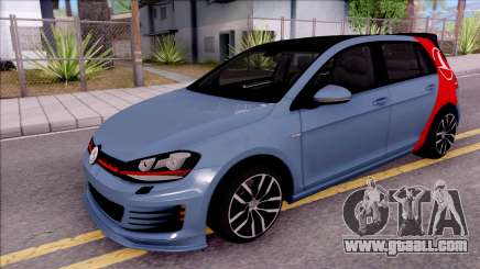 Volkswagen Golf 7 GTI Turkish Airlines for GTA San Andreas