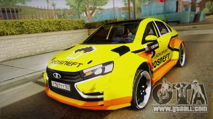 Lada Vesta Wtcc for GTA San Andreas