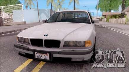 BMW 750i E38 1996 for GTA San Andreas