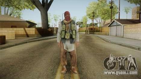 Medal Of Honor 2010 Taliban Skin v1 for GTA San Andreas second screenshot