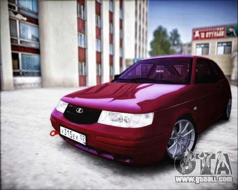 VAZ 2112 Turbo for GTA San Andreas