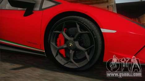 Lamborghini Huracan Performante LP640-4 2017 v1 for GTA San Andreas back view