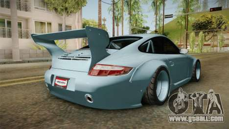 Porsche 997 Old & New 2008 for GTA San Andreas right view