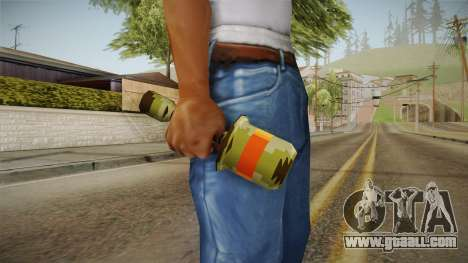 Metal Slug Weapon 14 for GTA San Andreas second screenshot