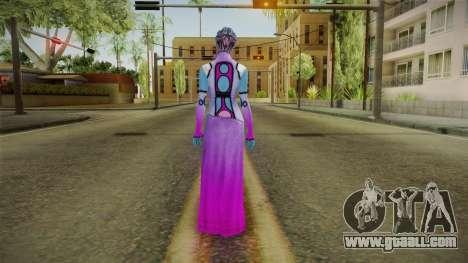 Mass Effect 3 Shaira Dress for GTA San Andreas third screenshot