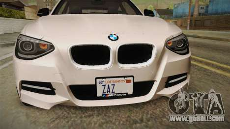 BMW M135i 2013 for GTA San Andreas side view