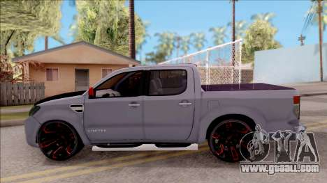 Ford Ranger 2014 Edition Flux Som for GTA San Andreas left view