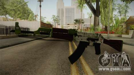 CS: GO AK-47 Hydroponic Skin for GTA San Andreas