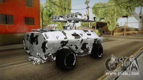 APC GTA 5 GunRunning Custom Turret for GTA San Andreas left view