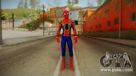 Marvel Cinematic Universe - Ironspider for GTA San Andreas second screenshot