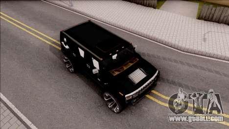 Hummer H2 Batman Edition for GTA San Andreas