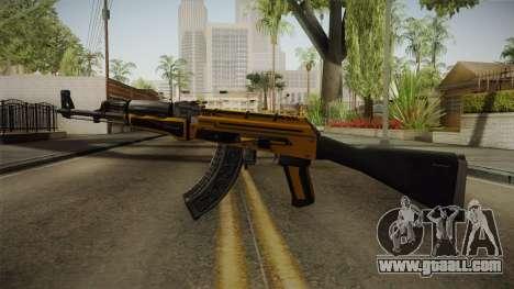 CS: GO AK-47 Fuel Injector Skin for GTA San Andreas second screenshot