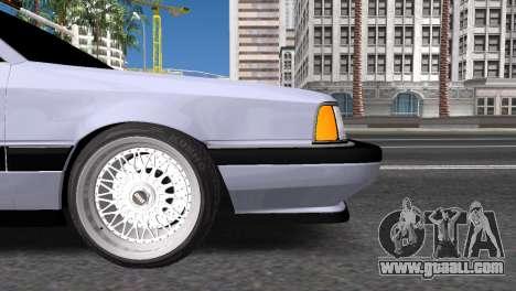 Audi 200 for GTA San Andreas left view