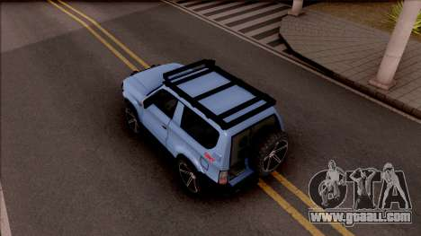 Toyota Meru Off-Road for GTA San Andreas back view