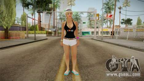 New Tracey Skin v2 for GTA San Andreas second screenshot