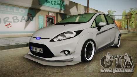 Ford Fiesta Rocket Bunny for GTA San Andreas