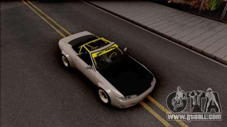 Nissan Skyline R32 Cabrio Drift Rocket Bunny for GTA San Andreas right view