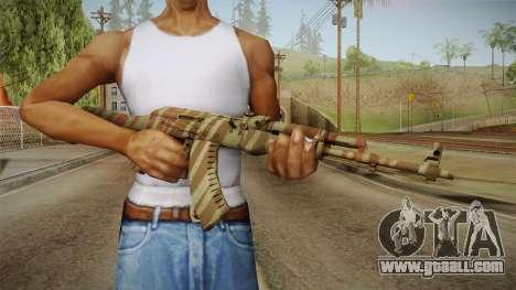 CS: GO AK-47 Predator Skin for GTA San Andreas third screenshot