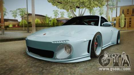 Porsche 997 Old & New 2008 for GTA San Andreas back left view