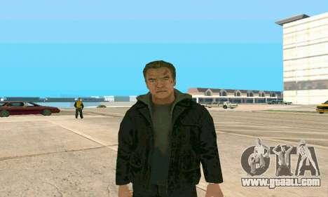Arnold Schwarzenegger Terminator Genisys for GTA San Andreas second screenshot