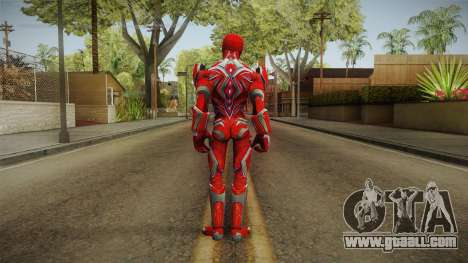 Red Ranger Skin for GTA San Andreas third screenshot