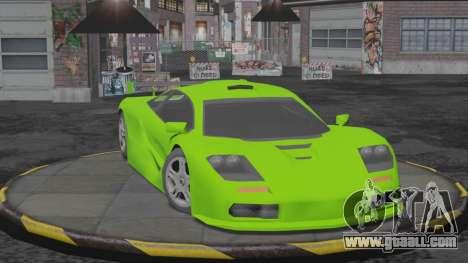 Progen GP1 SA Style for GTA San Andreas