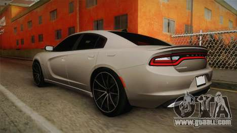Dodge Charger Hellcat for GTA San Andreas left view