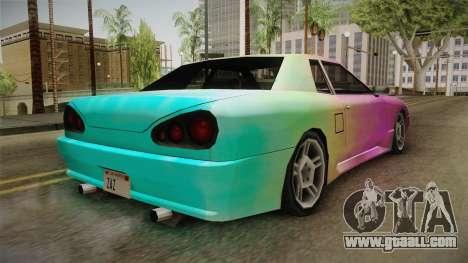 New Elegy Paintjob v2 for GTA San Andreas right view