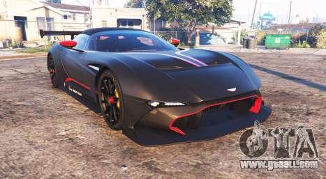 Aston Martin Vulcan 2016 [add-on] for GTA 5