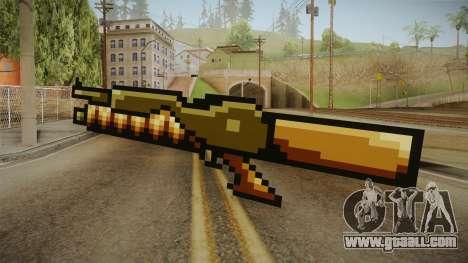 Metal Slug Weapon 9 for GTA San Andreas second screenshot