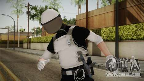 Mirror Edge Riot Cop v1 for GTA San Andreas