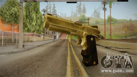 Silent Hill Downpour - Golden Gun SH DP for GTA San Andreas