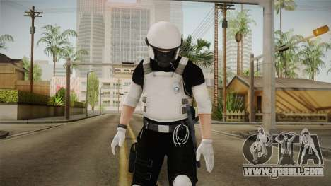 Mirror Edge Riot Cop v2 for GTA San Andreas