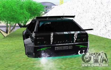 VAZ 2114 GTR SLS AMG for GTA San Andreas