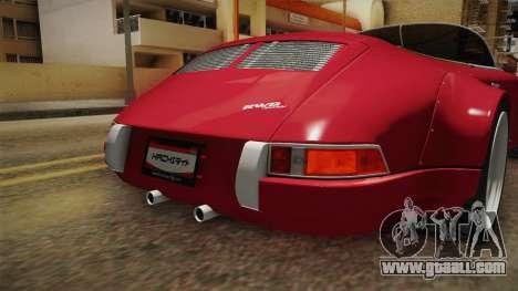 Porsche 911 RWB Speedster 1984 for GTA San Andreas interior