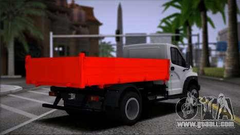 GAZon Next Side for GTA San Andreas left view