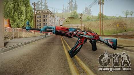 CS: GO AK-47 Point Disarray Skin for GTA San Andreas