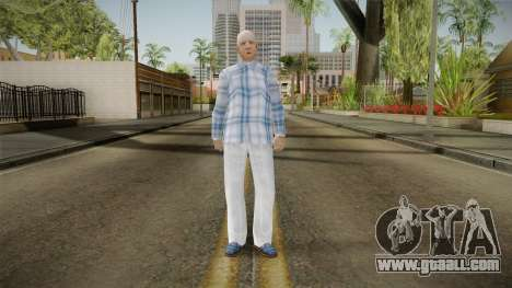 Viejo Inimputable Skin for GTA San Andreas second screenshot