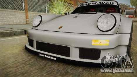 Porsche 911 RWB Terror 1982 for GTA San Andreas upper view