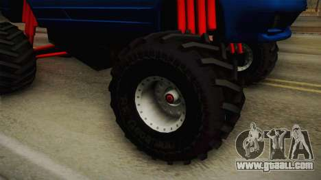 Nissan Skyline R32 Pickup Monster Truck for GTA San Andreas back view