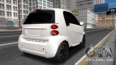 Smart ForTwo for GTA San Andreas left view