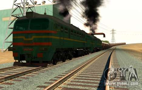 Freight Locomotive 2M62 1184 Masha for GTA San Andreas