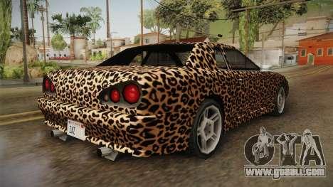 New Elegy Paintjob v3 for GTA San Andreas back left view